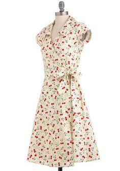 Cherry a Tune Dress, #ModCloth