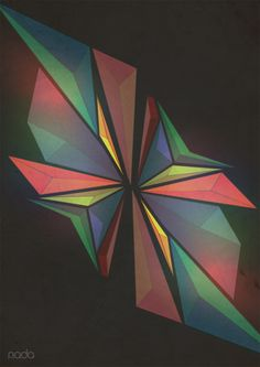 The Prismatic Series by Nada Al-Rajeh, via Behance