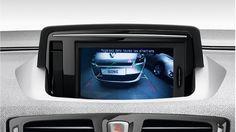 Wnętrze Renault Megane RS - kamera