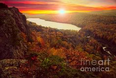 Lake of the Clouds, Porcupine mts. Michigan