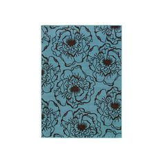 Tulum 5'3x7'6 Blue now featured on Fab.