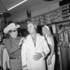 George Jones & Nudie Cohn (Cowboy Tailor from CA)