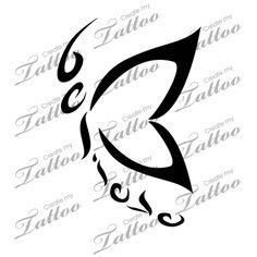Marketplace Tattoo Believe-erfly #18715 | CreateMyTattoo.com