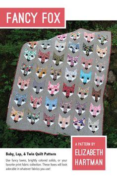 Fancy Fox - Quilt Pattern