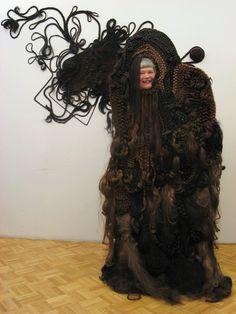 """Hairy Hunch"" by Shoplifter.  She was the artist responsible for Bjork's elaborate hair sculptures on the ""Medulla"" LP cover art.  I like this interactive piece."