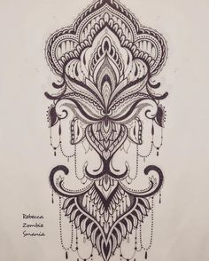B Tattoo, Line Work Tattoo, Mandala Tattoo, Black Tattoos, Cool Tattoos, Tattoo Brazo, Motif Art Deco, Future Tattoos, Shoulder Tattoo