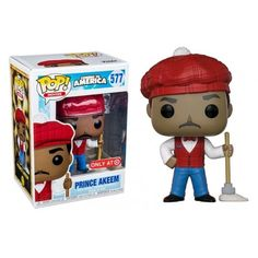 Prince Akeem Vinyl Figure 10cm Limited Coming to America Funko POP