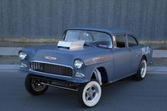 rust-n-bones: (via 1955 chevy 150 gasser)
