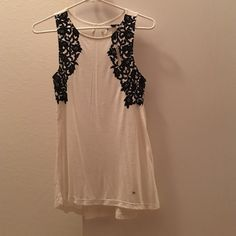 New tank top Very soft. Velvet details on front American Eagle Outfitters Tops Tank Tops