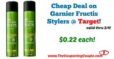 AWESOME DEAL! Definitely time to stock up! Cheap Deal on Garnier Fructis Stylers @ Target!  Click the link below to get all of the details ► http://www.thecouponingcouple.com/cheap-deal-on-garnier-fructis-stylers-target/ #Coupons #Couponing #CouponCommunity  Visit us at http://www.thecouponingcouple.com for more great posts!