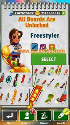 Subway surf Mod Hacked Game unlimited Coins Life and key - Teckmod Subway Surfers Download, Subway Surfers Game, Ios, Play Hacks, App Hack, Gaming Tips, Game Resources, Android Hacks, Hack Online
