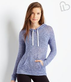 LLD Long Sleeve Knit Popover Hoodie - Aéropostale® 20.00