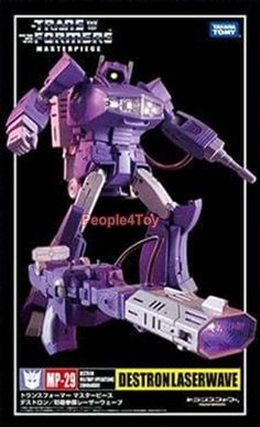 Takara Tomy Transformers Masterpiece MP-29 Shockwave Laserwave Action Figure G1 #Takara
