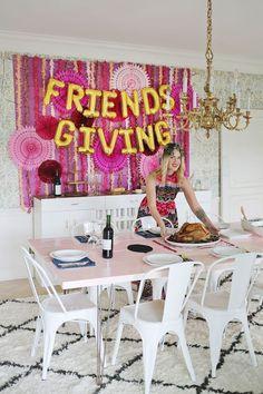 Chic Friendsgiving decor -- Top 5 Pins: Friendsgiving 101 | HelloSociety Blog