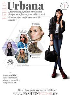 ¿ Te gusta ser descomplicada y estar a la moda? Las tendencias mas cosmopolitas para un Estilo de mujer Urbano. Chaquetas en cuero, botas, piezas en denim, apuestas irreverentes y todas las propuestas de diseño en fashionfactor.me Únete a nuestro exclusivo grupo de mujeres que saben estar a la moda respetando su propio estilo.