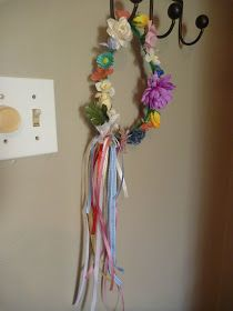 Outside the box!: As Fairy Birthday Party: the fairy headbands for all the little girls