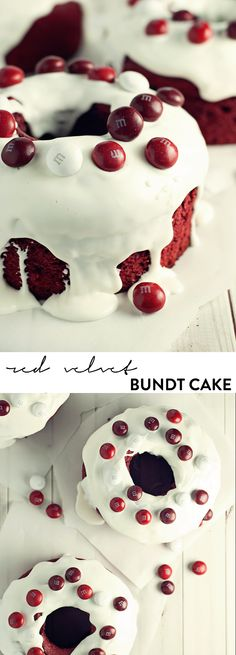 Share the love with a delicious and easy mini red velvet bundt cake!