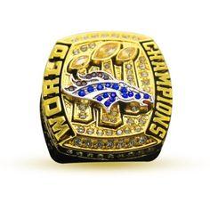 2015 Broncos Championship Ring - Sale - Football