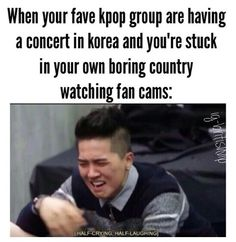 This is me......haha, actually I was happy to get to watch boyfriend live and hear witch for the first time even if I had to stay up til 6am to do so....it was worth it.