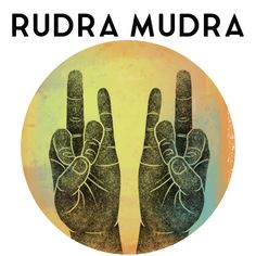 """Rudra is a hand gesture used in yoga practice that is believed to have powerful healing and energizing qualities. Rudra is a Sanskrit word that means """"howler"""". It is also the name of a Rigvedic deity and is associated with the Hindu god, Shiva. Shiva Yoga, Kundalini Yoga, Yoga Meditation, Meditation Quotes, Sanskrit Quotes, Sanskrit Words, Sanskrit Symbols, Yoga Mantras, Yoga Quotes"""