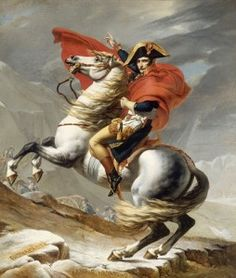 Jacques Louis David Napoleon Crossing the Alps on May 1800 print for sale. Shop for Jacques Louis David Napoleon Crossing the Alps on May 1800 painting and frame at discount price, ships in 24 hours. Cheap price prints end soon. Jacque Louis David, David Painting, Oil On Canvas, Canvas Art, Big Canvas, Oeuvre D'art, Art History, European History, Horses
