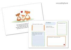 Fotoalbum & Gästebuch - Gästebuch Taufe mit Gästefragen - ein Designerstück von Be-nice-4-you bei DaWanda