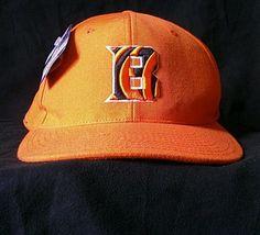 Cincinnati Bengals cap New w tag. Made by Reebok ball cap Size 7 3/4 or Large #Reebok #CincinnatiBengals