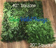 Pre-Order : Coming Assorted Ferns Vertical Landscape Wall Mat - Square (Indoor/Outdoor, UV & Fire Treated! Planting Bulbs In Spring, Spring Bulbs, Modern Canvas Art, Modern Wall Art, Cabana, Artificial Green Wall, Garden Solutions, Garden Journal, Landscape Walls