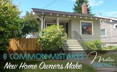 If you're in the market for your first home, here are 5 common mistakes that new homeowners make that you'll want to avoid: http://www.melissaemond.com/common-mistakes-new-home-owners-make/