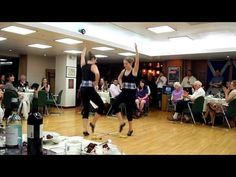 A two person sword dance, performed by two Canadian Highland dancers, for a ceilidh at the British Embassy in Seoul.