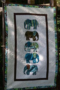 elephant baby quilt #1 rebeccaaranyi.com