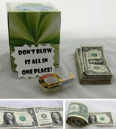 Punny Are These 5 Crafty Ways to Give Cash Gifts? Looking to give some cash to your favorite grad? Create an element of surprise by giving a tissue box filled with money.Scar tissue Scar tissue may refer to: Diy Holiday Gifts, Diy Gifts, Best Gifts, Christmas Gifts, Christmas Shopping, Holiday Parties, Christmas Ideas, High School Graduation Gifts, Grad Gifts