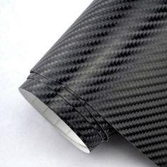 5FT X  50FT CARBON FIBER VINYL WRAP GRADE BUBLE FREE AIR RELEASE 3D PROFESSIONAl