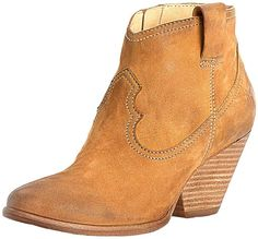 Reina Bootie in Camel by The Frye Company - FINAL SALE