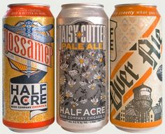 these beer cans, can they get any prettier?