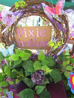 pixie hollow wreath for Lexi