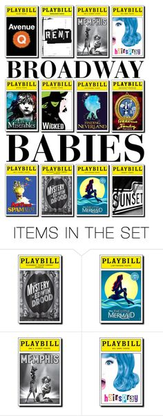 """""""Broadway Babies Icon"""" by spacevinci ❤ liked on Polyvore featuring art"""