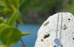Trellis Bay Pendant up on the website now! #bluetopaz #pendant #saintjohn