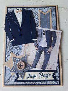 Male Birthday, 3d Cards, Marianne Design, Masculine Cards, Birthday Cards, Christmas Cards, Crafts, Inspiration, Men