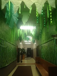 Jungle hallway for VBS Shipwrecked