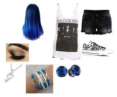 """Untitled #60"" by hollywoodundead496 ❤ liked on Polyvore featuring VILA, Converse and MaBelle"