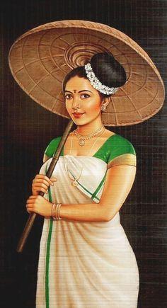 Ravivarma Paintings, Indian Art Paintings, Abstract Paintings, Chagall Paintings, Abstract Sketches, Abstract Oil, Landscape Paintings, Painting Of Girl, Painting Tips
