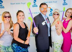 BBB Marketing team posing with Gregg Cantor of Murray Lampert Construction!