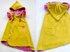 Hooded Ruffles Sewing Dress Pattern