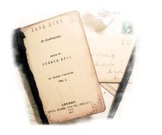 Bronte Travel Set, Jane Eyre Journal Small Travel Journal, Wuthering Heights Journal Charlotte Bronte, Facsimile Mini Journal, Keepsake