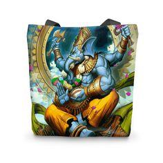 Lord Ganesha 3D Tote Bag