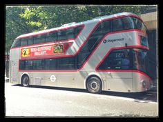 A new version of a London bus photographed in July
