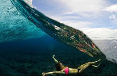 Alana Blanchard. Incredible photo. Happiness in one picture.