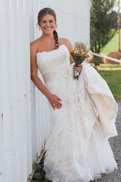 Maggie Sottero Embrace Wedding Dress $950