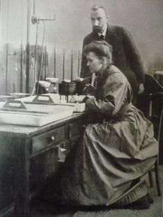 "Marie Skłodowska-Curie (1867-1934) | Winner of the Nobel Prize in Physics in 1903 (with Pierre Curie) ""for their joint researches on the radiation phenomena discovered by Professor Henri Becquerel"" 